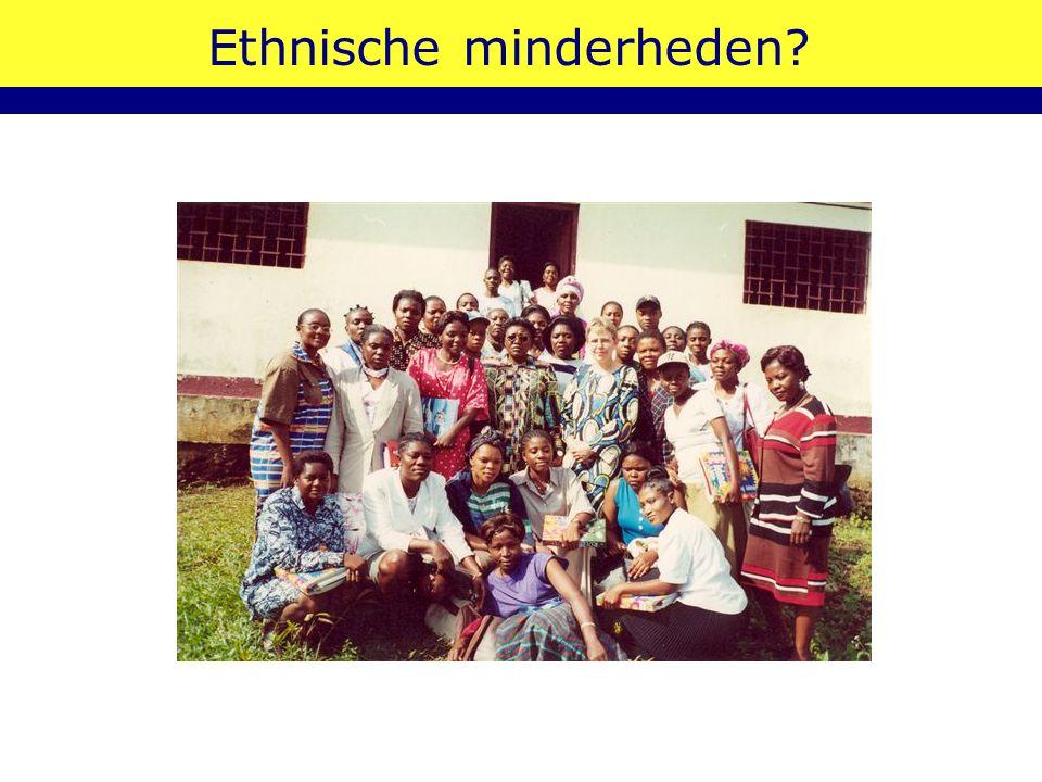 Ethnische minderheden