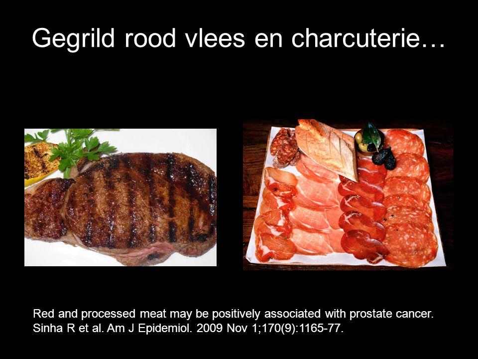 Gegrild rood vlees en charcuterie…