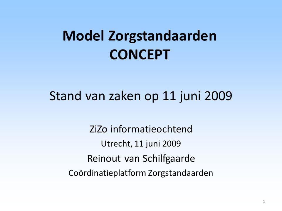 Model Zorgstandaarden CONCEPT