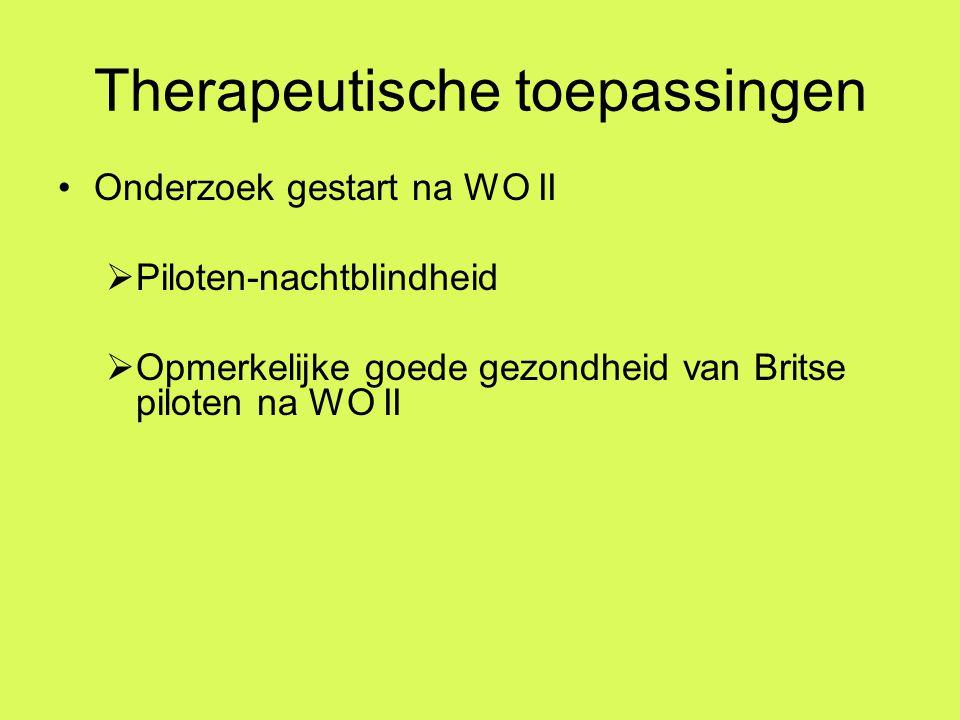 Therapeutische toepassingen