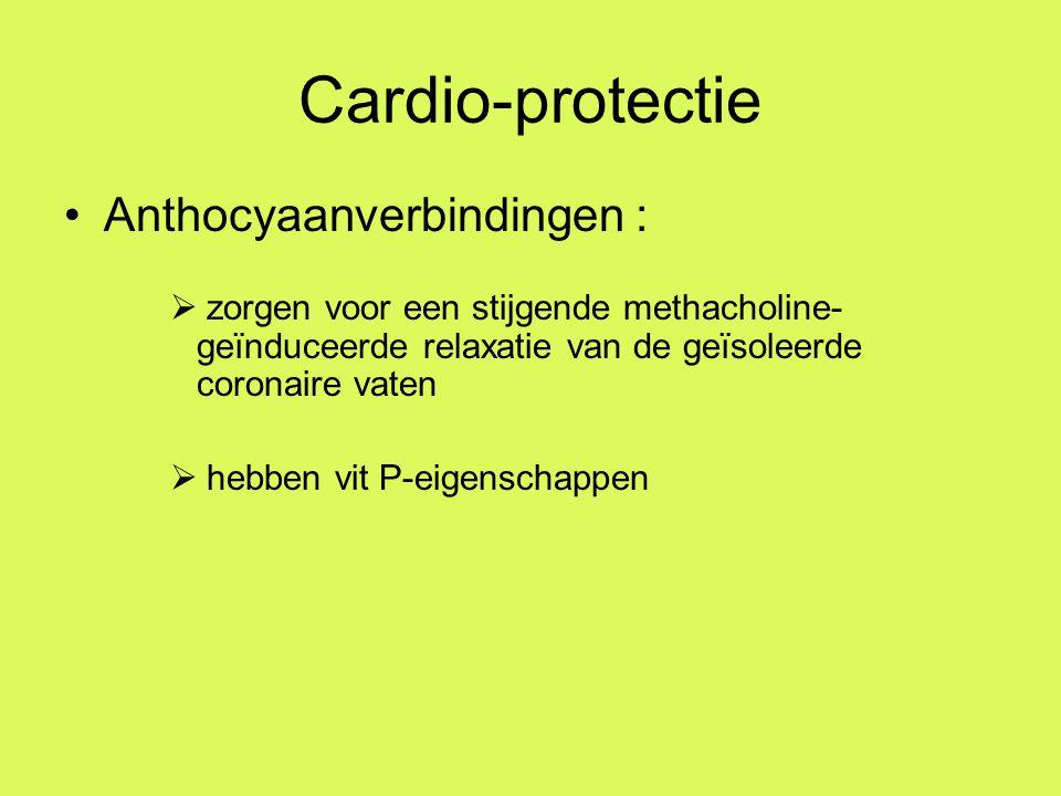 Cardio-protectie Anthocyaanverbindingen :