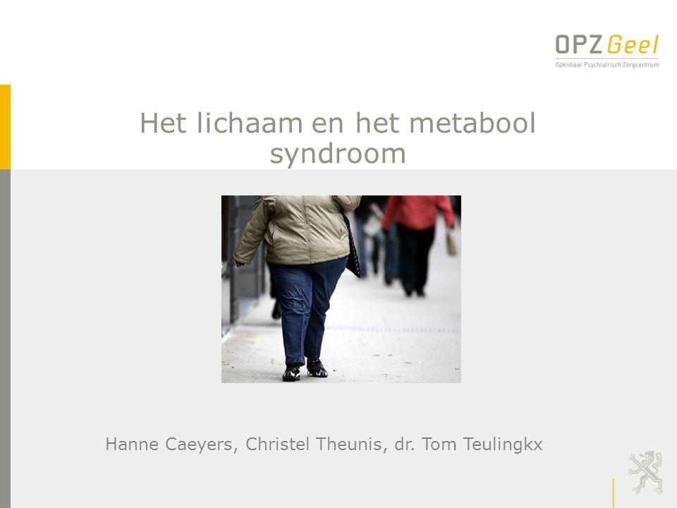 Het lichaam en het metabool syndroom