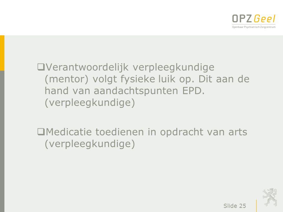 Medicatie toedienen in opdracht van arts (verpleegkundige)