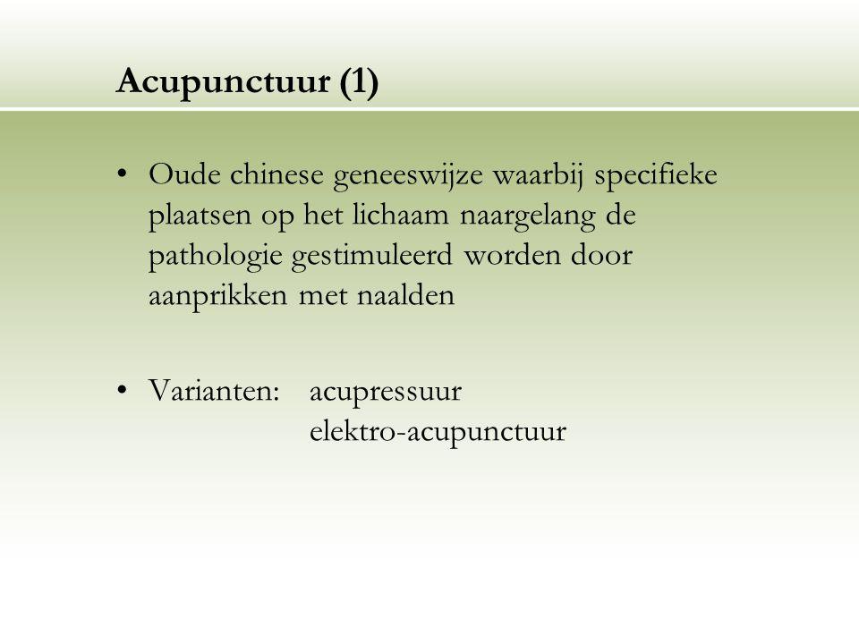 Acupunctuur (1)