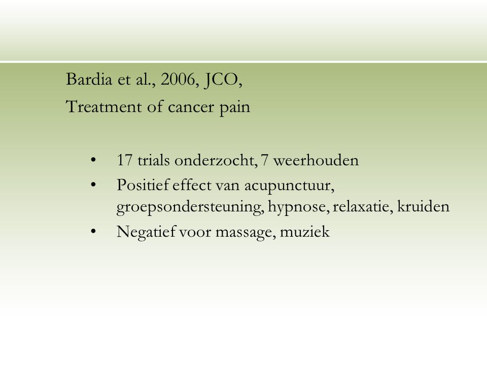 Treatment of cancer pain