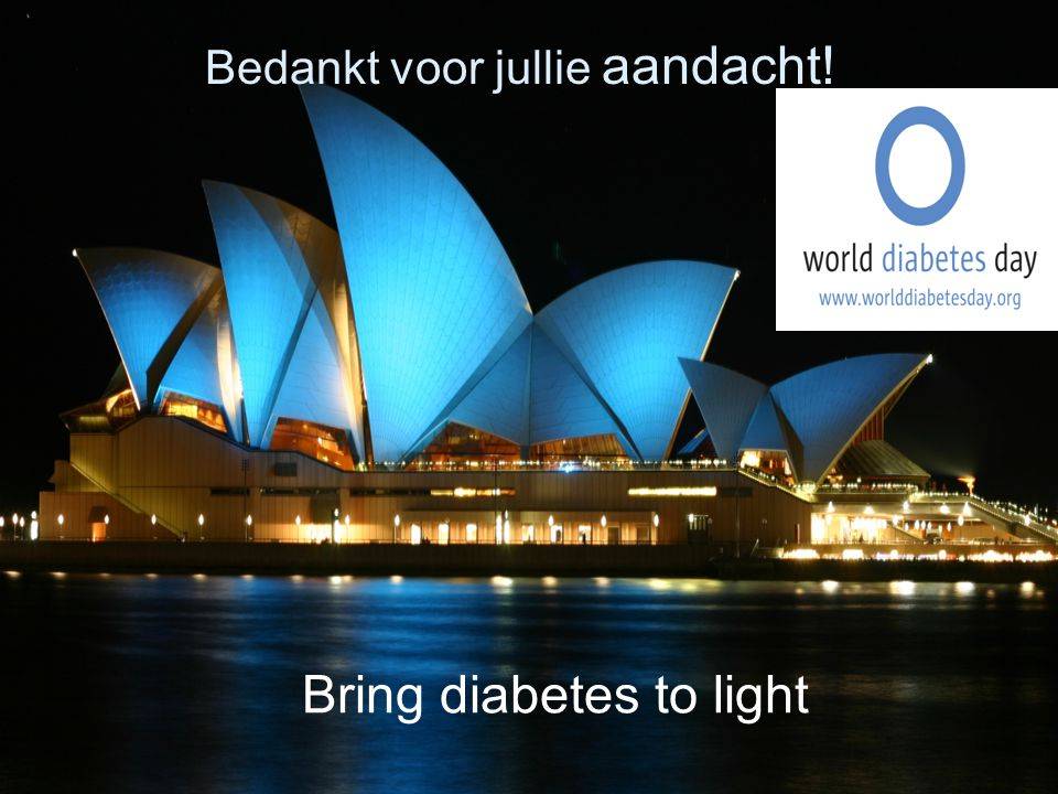Bring diabetes to light