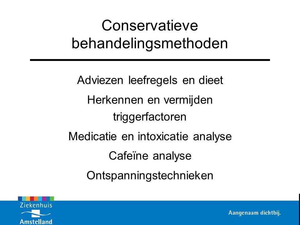 Conservatieve behandelingsmethoden