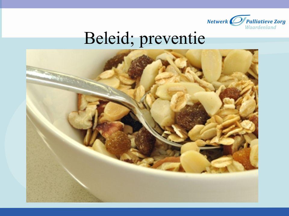 Beleid; preventie