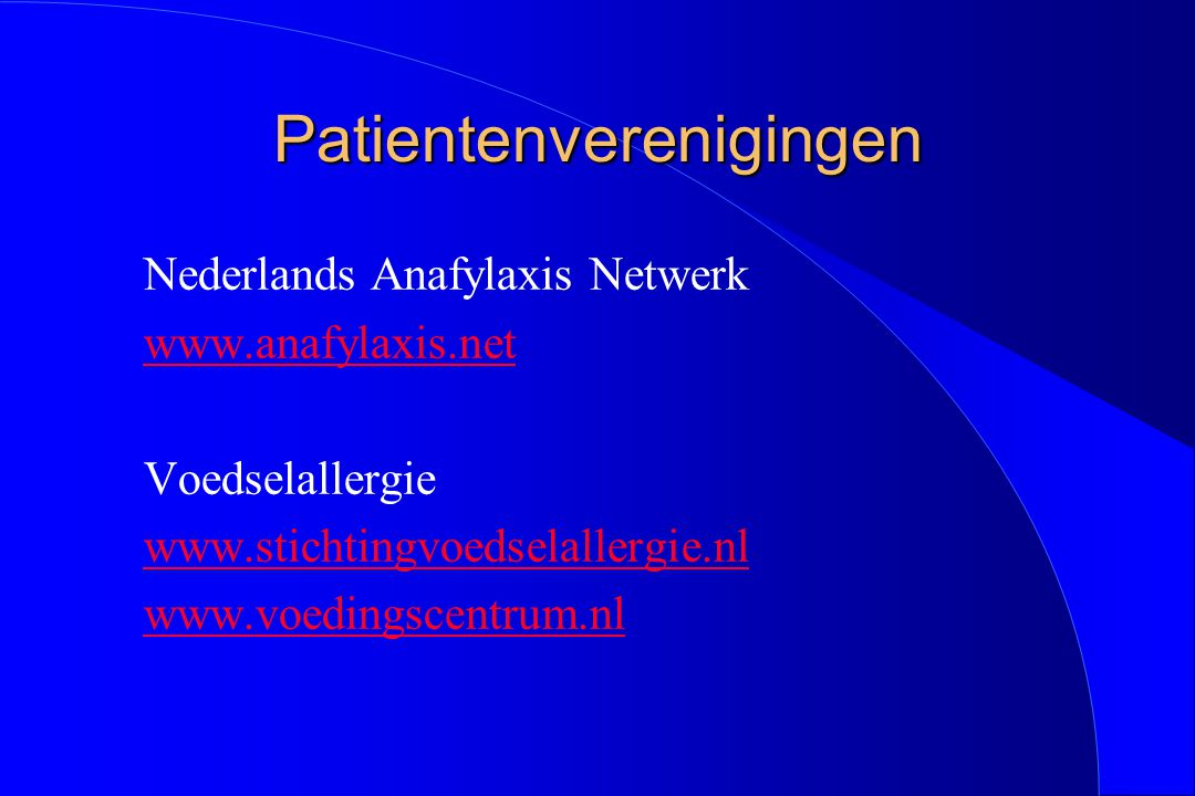 Patientenverenigingen