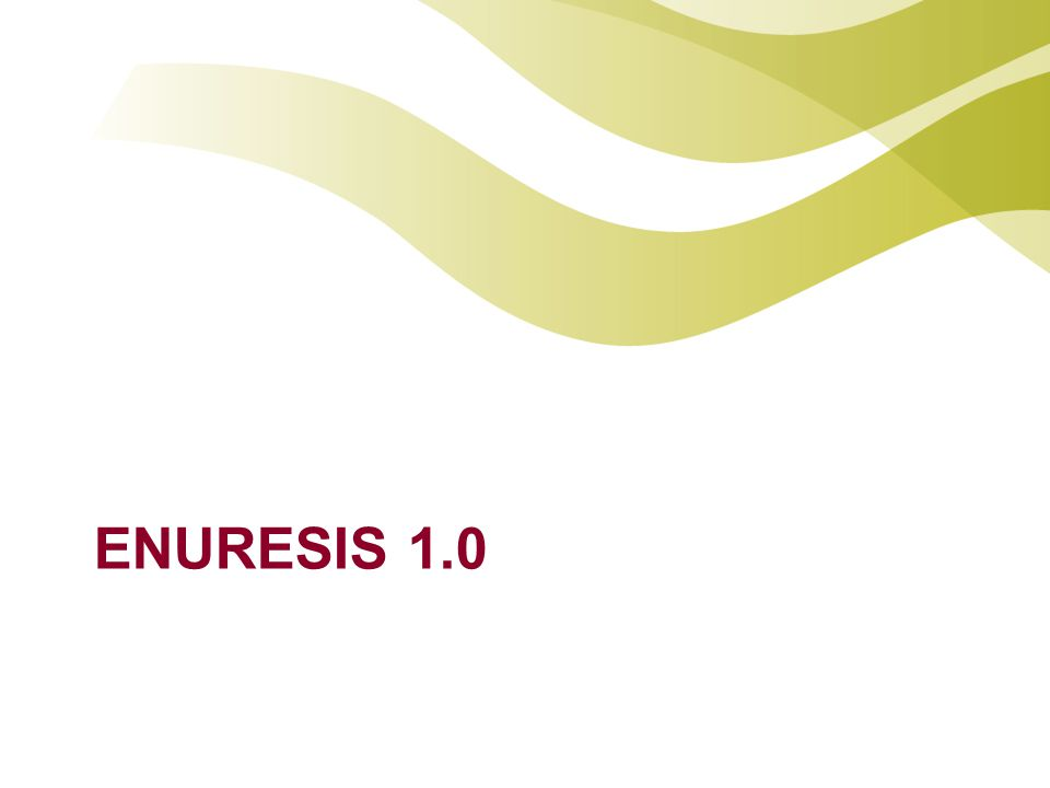 ENURESIS 1.0