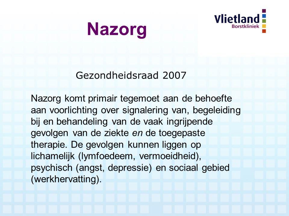 Nazorg Gezondheidsraad 2007