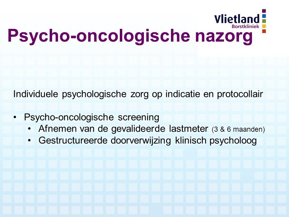 Psycho-oncologische nazorg