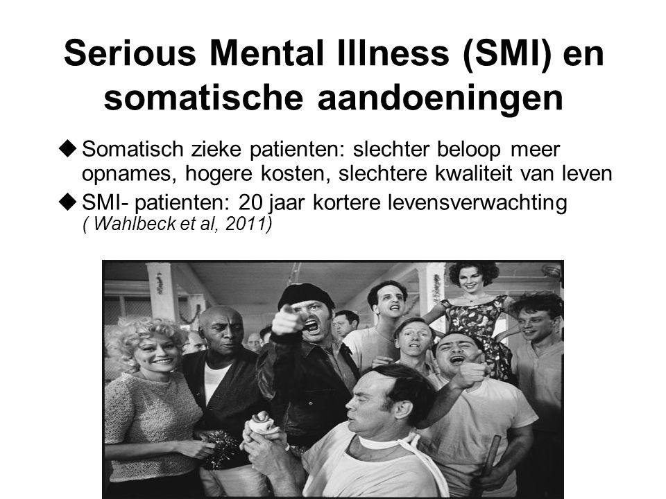 Serious Mental Illness (SMI) en somatische aandoeningen
