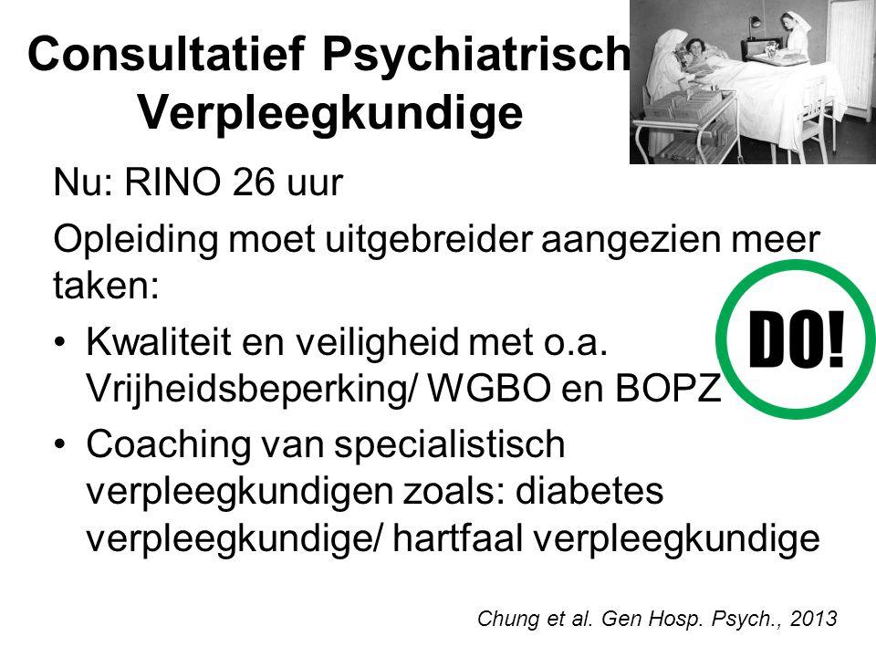 Consultatief Psychiatrisch Verpleegkundige