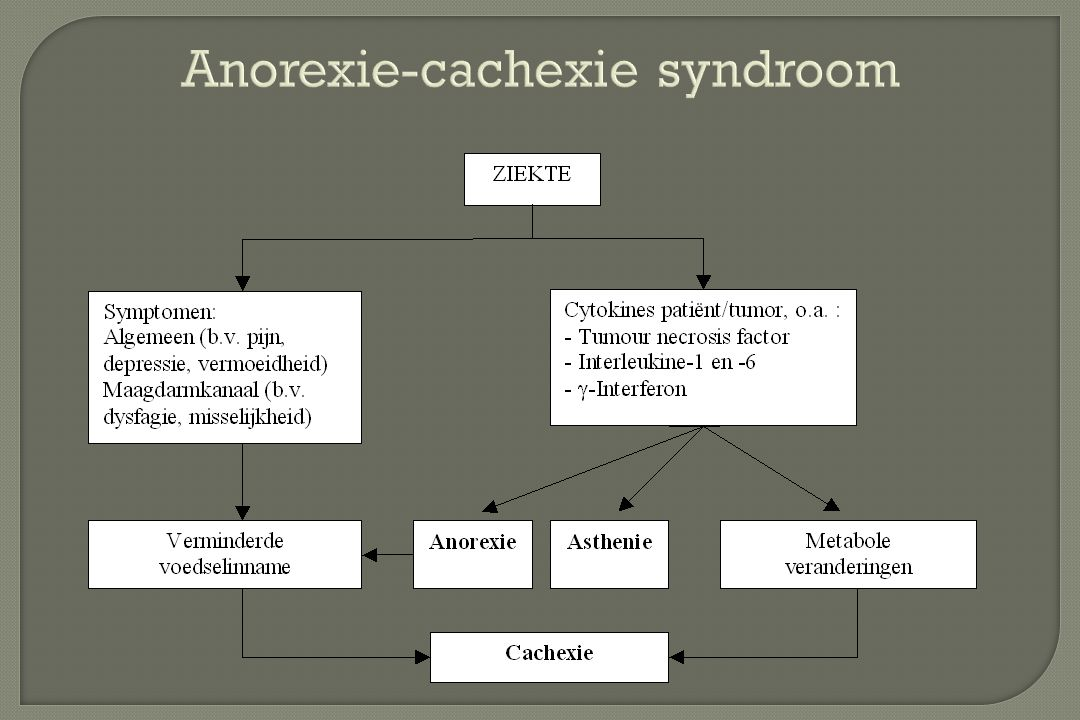 Anorexie-cachexie syndroom