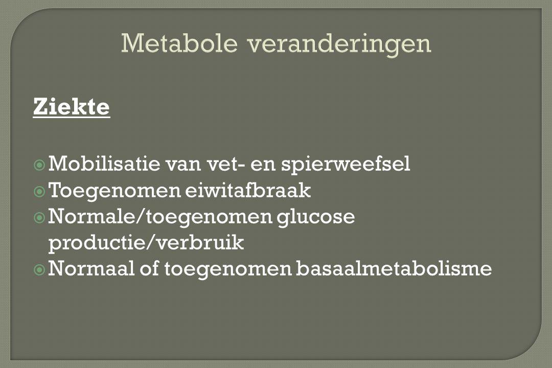 Metabole veranderingen