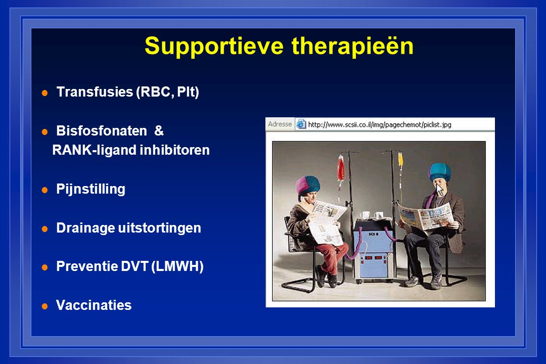 Supportieve therapieën