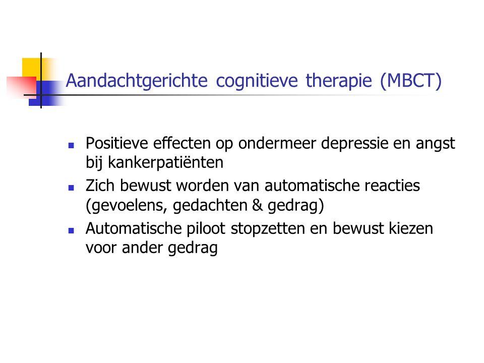 Aandachtgerichte cognitieve therapie (MBCT)