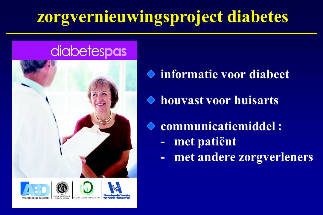zorgvernieuwingsproject diabetes