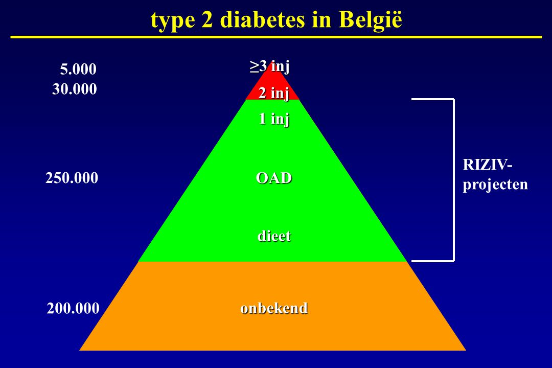 type 2 diabetes in België