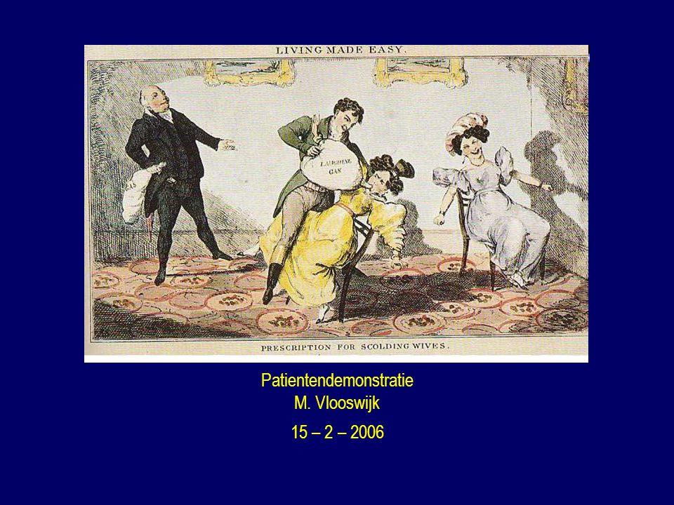 Patientendemonstratie M. Vlooswijk 15 – 2 – 2006