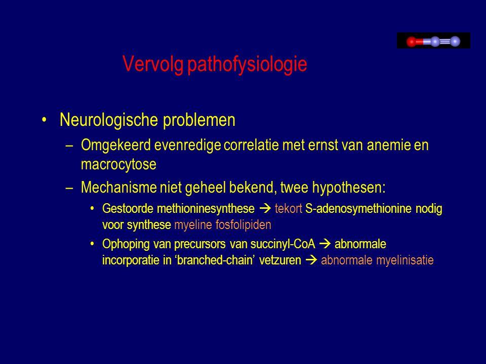 Vervolg pathofysiologie