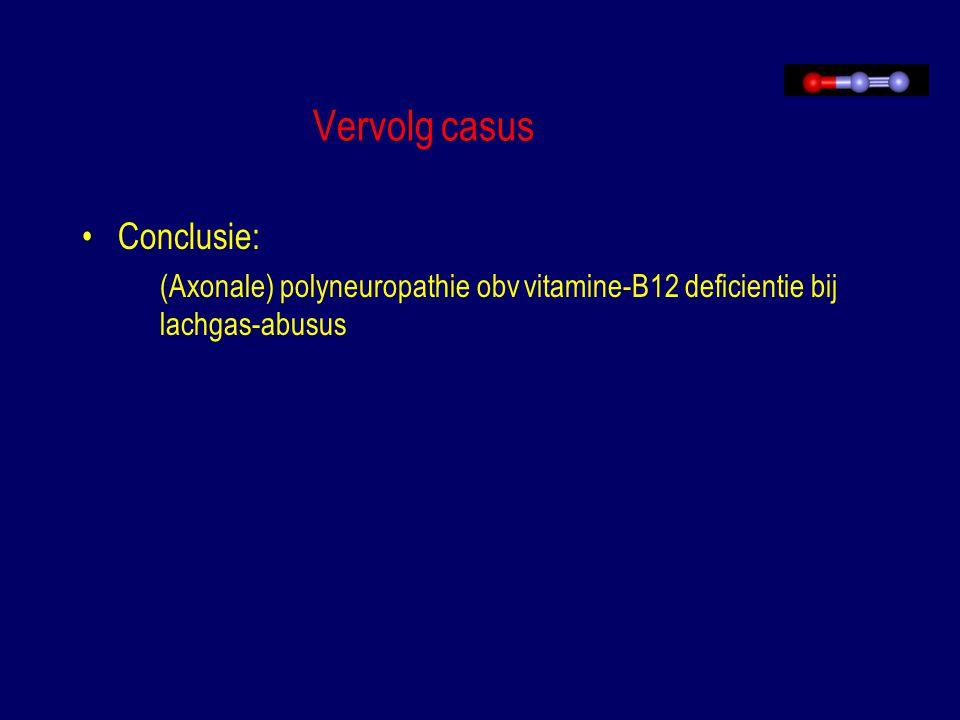 Vervolg casus Conclusie: