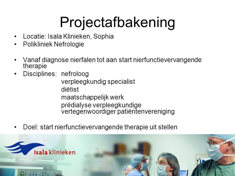 Projectafbakening Locatie: Isala Klinieken, Sophia