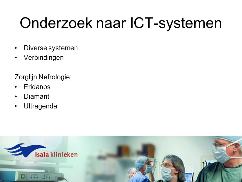 Onderzoek naar ICT-systemen