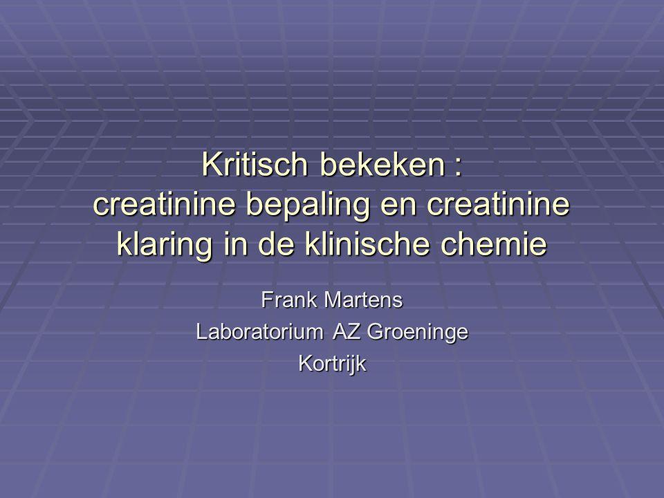 Frank Martens Laboratorium AZ Groeninge Kortrijk