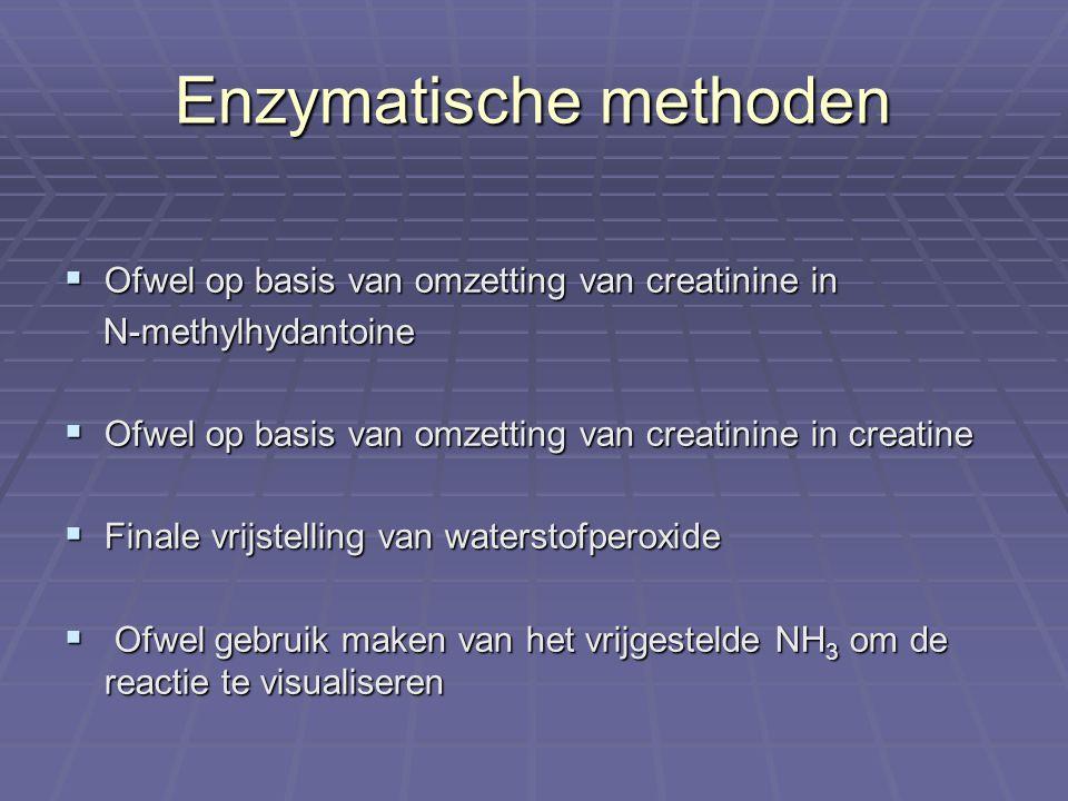 Enzymatische methoden