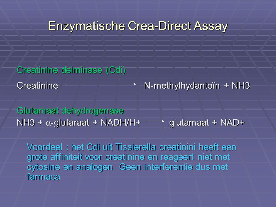 Enzymatische Crea-Direct Assay