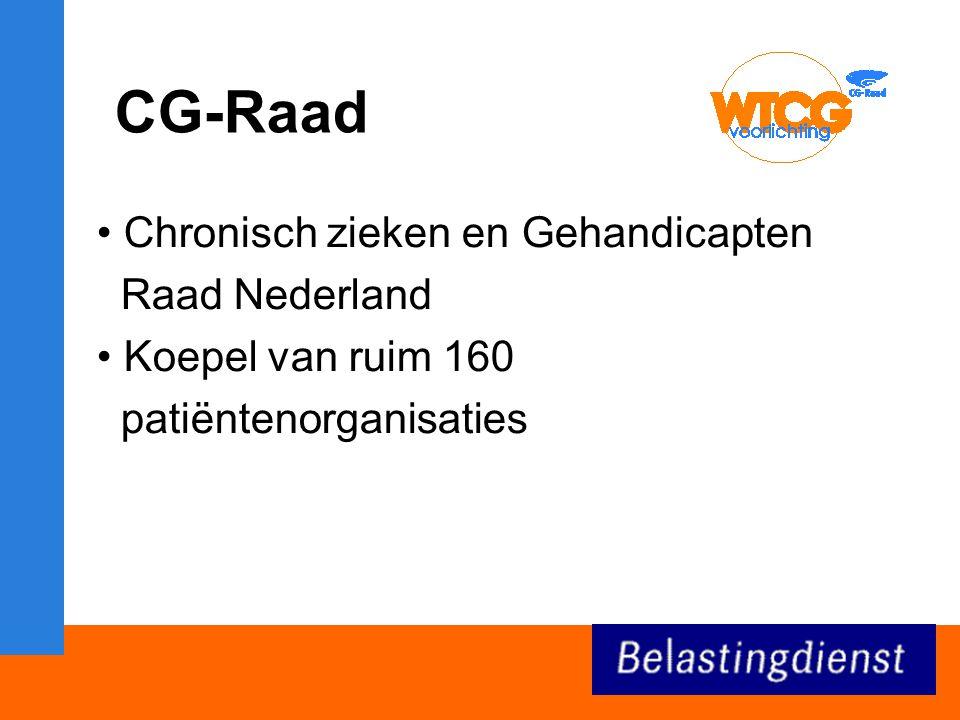 CG-Raad Chronisch zieken en Gehandicapten Raad Nederland
