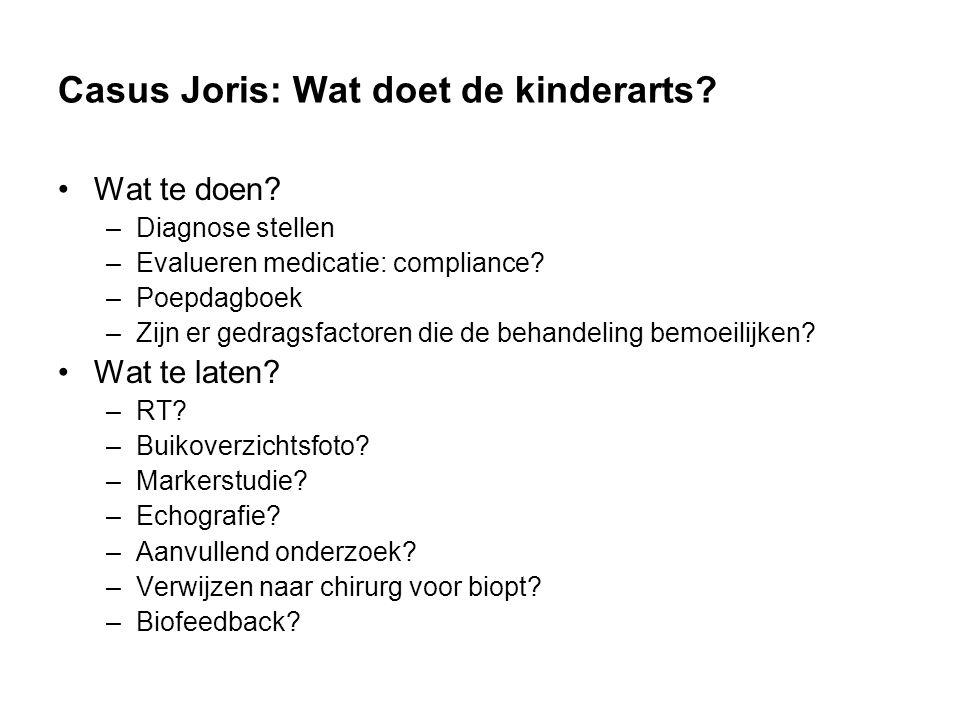 Casus Joris: Wat doet de kinderarts