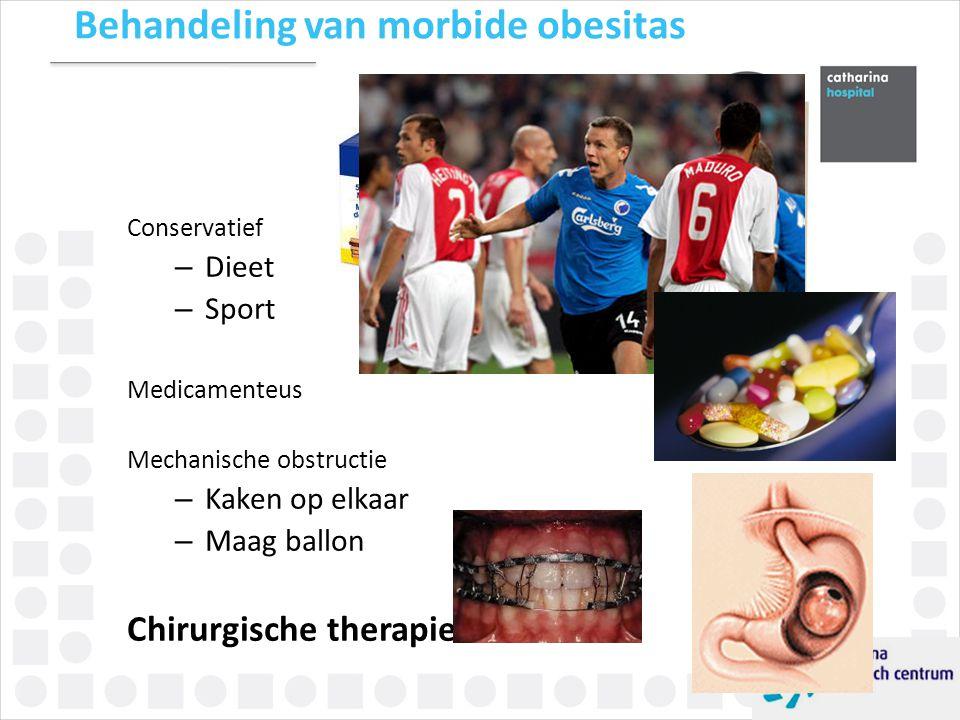 Behandeling van morbide obesitas