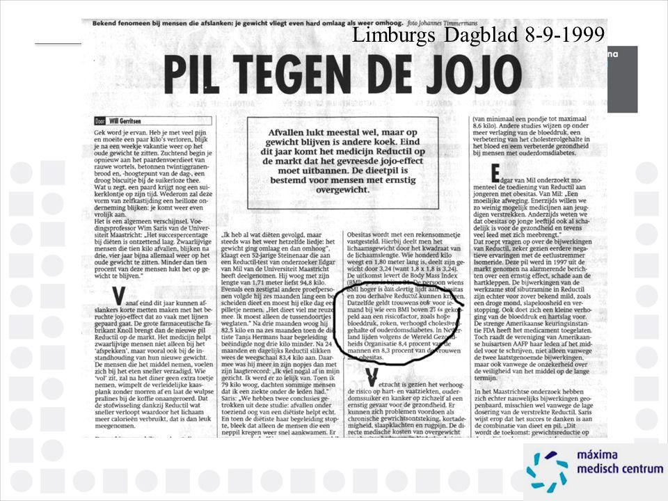 Limburgs Dagblad 8-9-1999