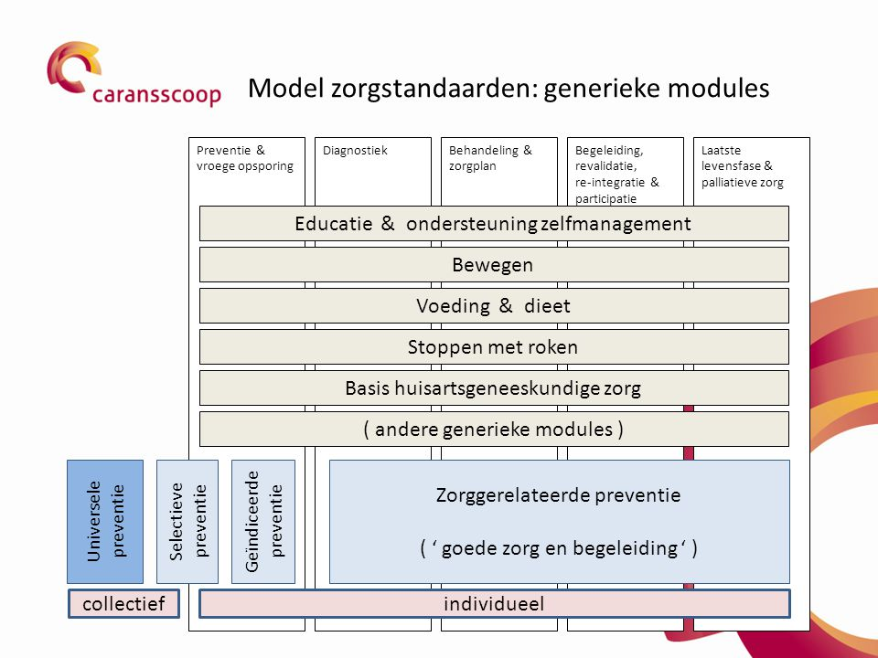 Model zorgstandaarden: generieke modules