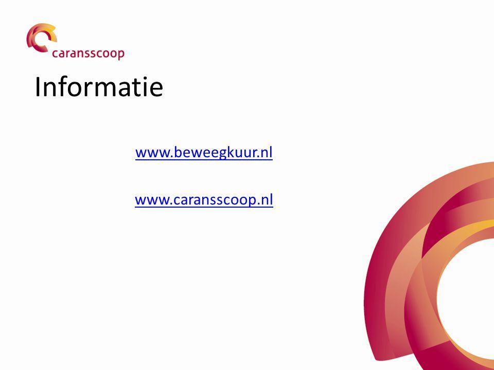 www.beweegkuur.nl www.caransscoop.nl