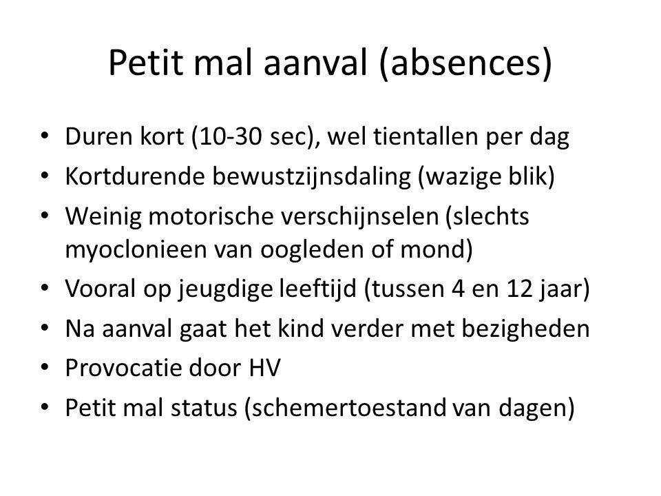 Petit mal aanval (absences)