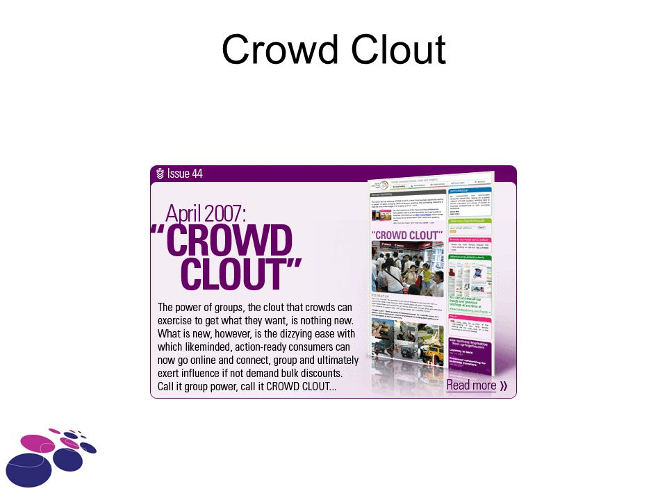 Crowd Clout
