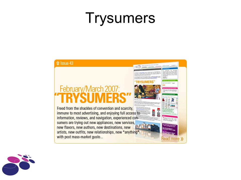 Trysumers