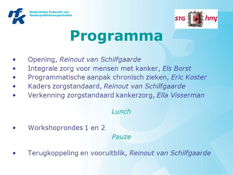 Programma Opening, Reinout van Schilfgaarde