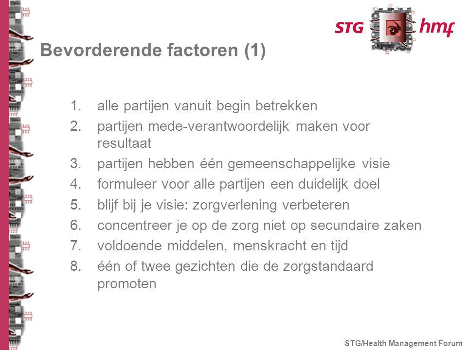Bevorderende factoren (1)