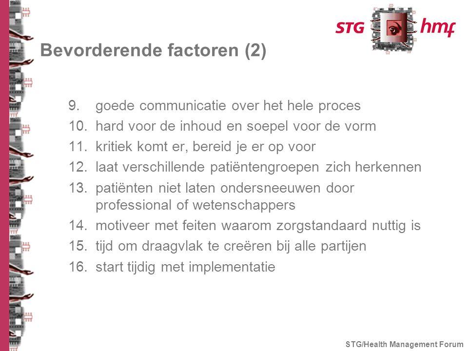 Bevorderende factoren (2)
