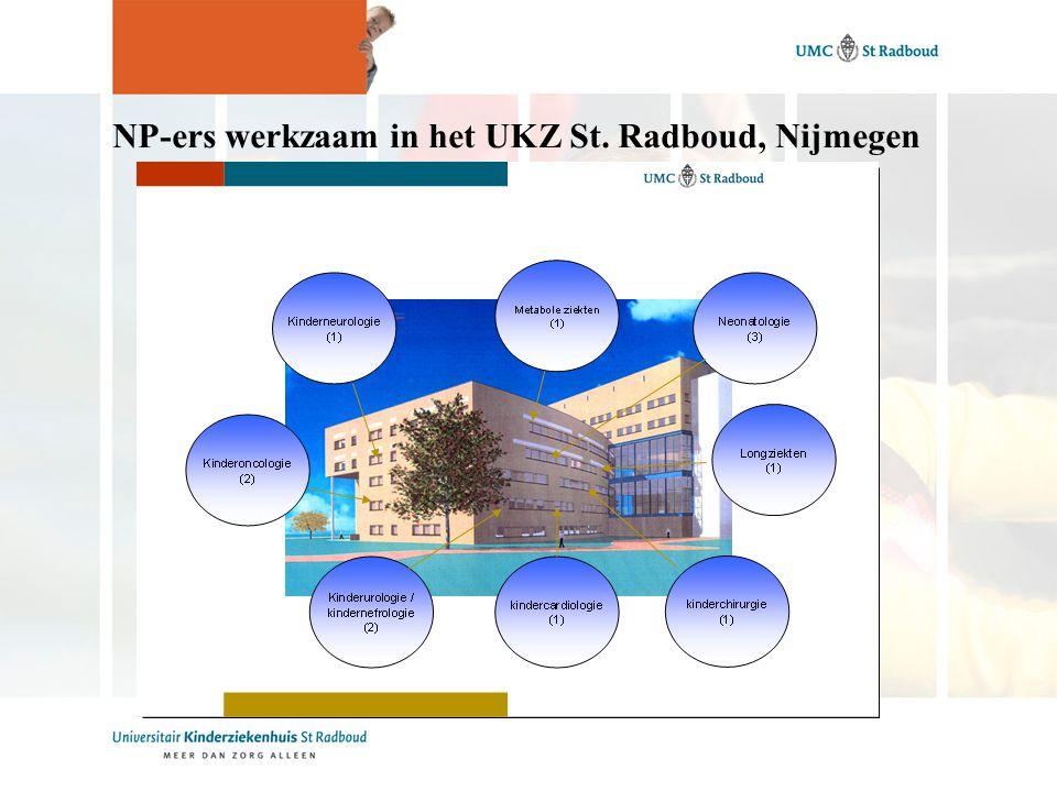 NP-ers werkzaam in het UKZ St. Radboud, Nijmegen
