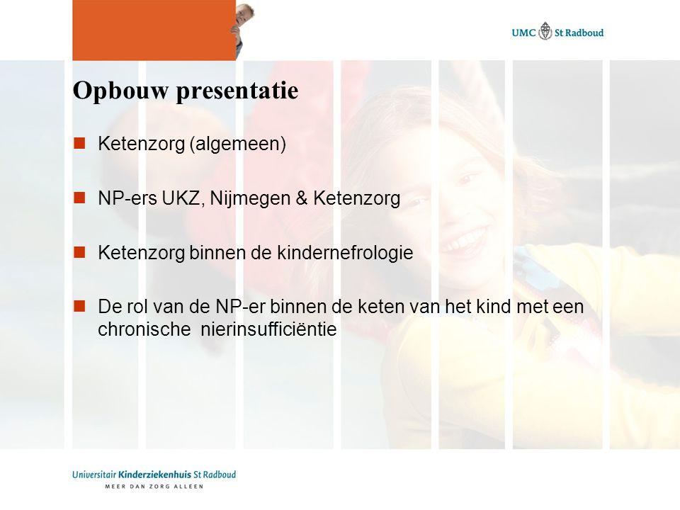 Opbouw presentatie Ketenzorg (algemeen)
