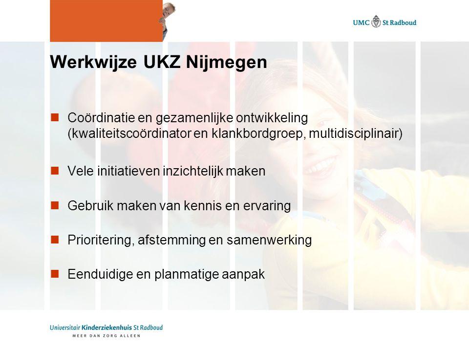 Werkwijze UKZ Nijmegen