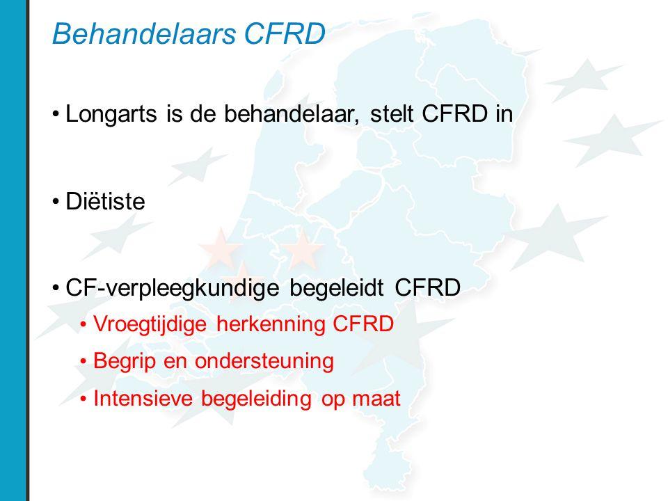 Behandelaars CFRD Longarts is de behandelaar, stelt CFRD in Diëtiste