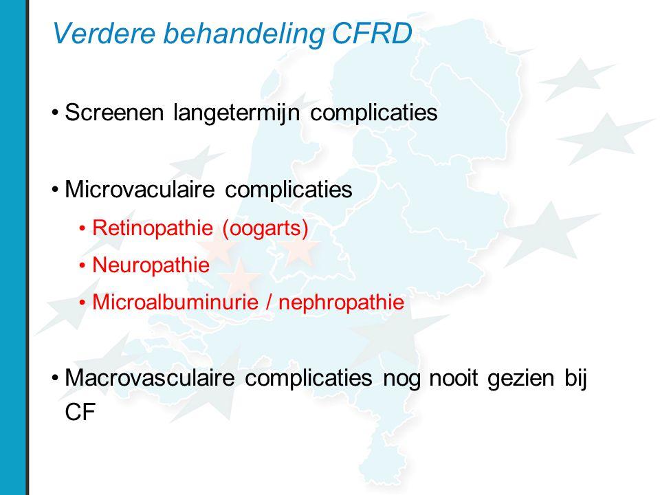 Verdere behandeling CFRD