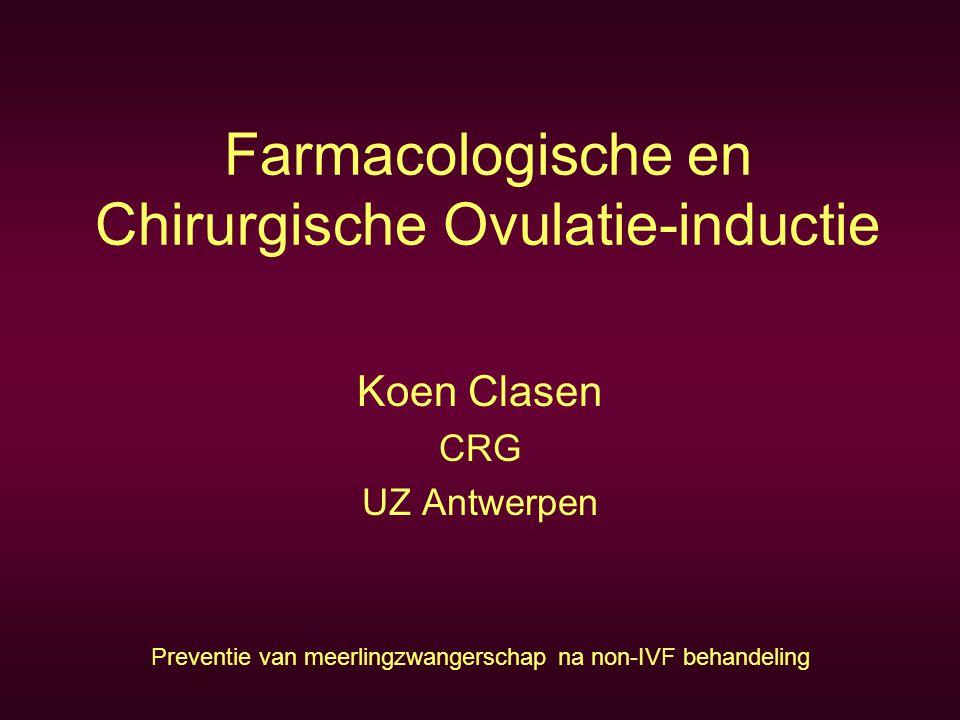 Farmacologische en Chirurgische Ovulatie-inductie